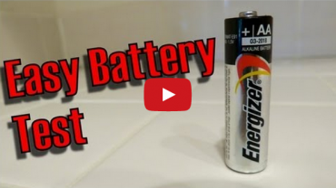 1 Second Test For Dead Batteries