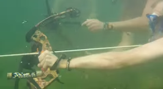 Underwater Bowfishing