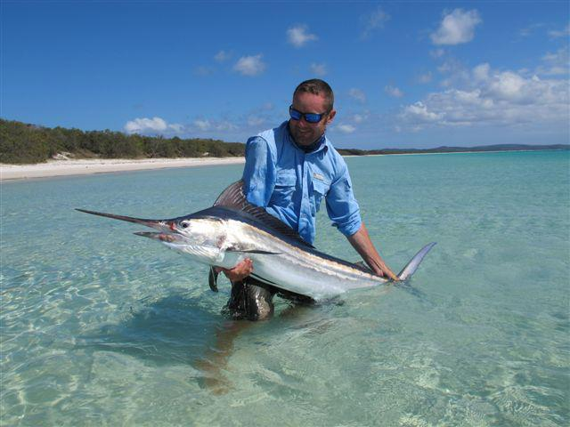 Fly Fishing for Marlin Flats