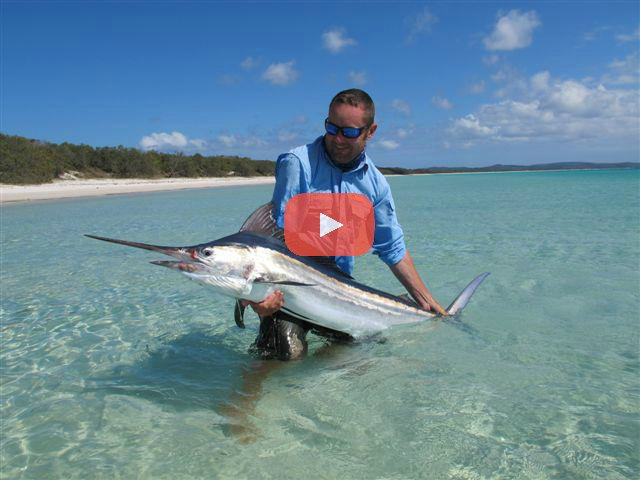 Fly Fishing for Marlin In the Flats