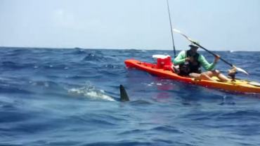 Surf fishing with a drone to cast your bait waaaay out for Best fishing kayak under 800