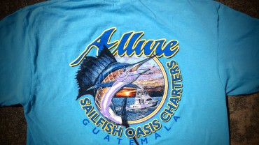 Red Tuna Fishing Shirt Club - July 2015 Sailfish Oasis Charters Announcement