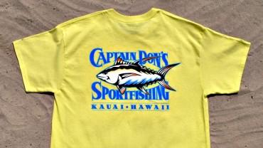 Red Tuna Fishing Shirt Club - Captain Don's Sportfishing Hawaii