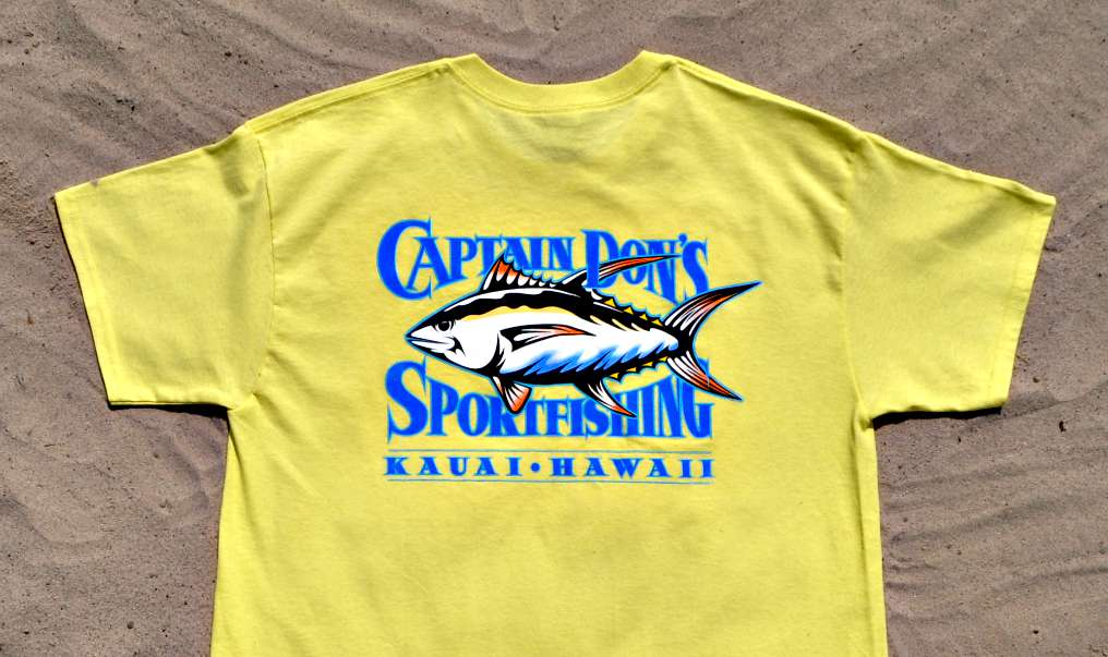 Red Tuna Fishing Shirt Club - Captain Don's Sportfishing Hawaii