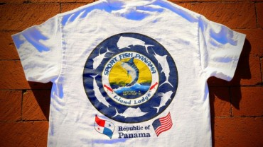 Red Tuna Fishing Shirt Club - Panama Sport Fish Oct 2015