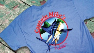 Red Tuna Fishing Shirt Club November - Capt Mikes  St Lucia FB