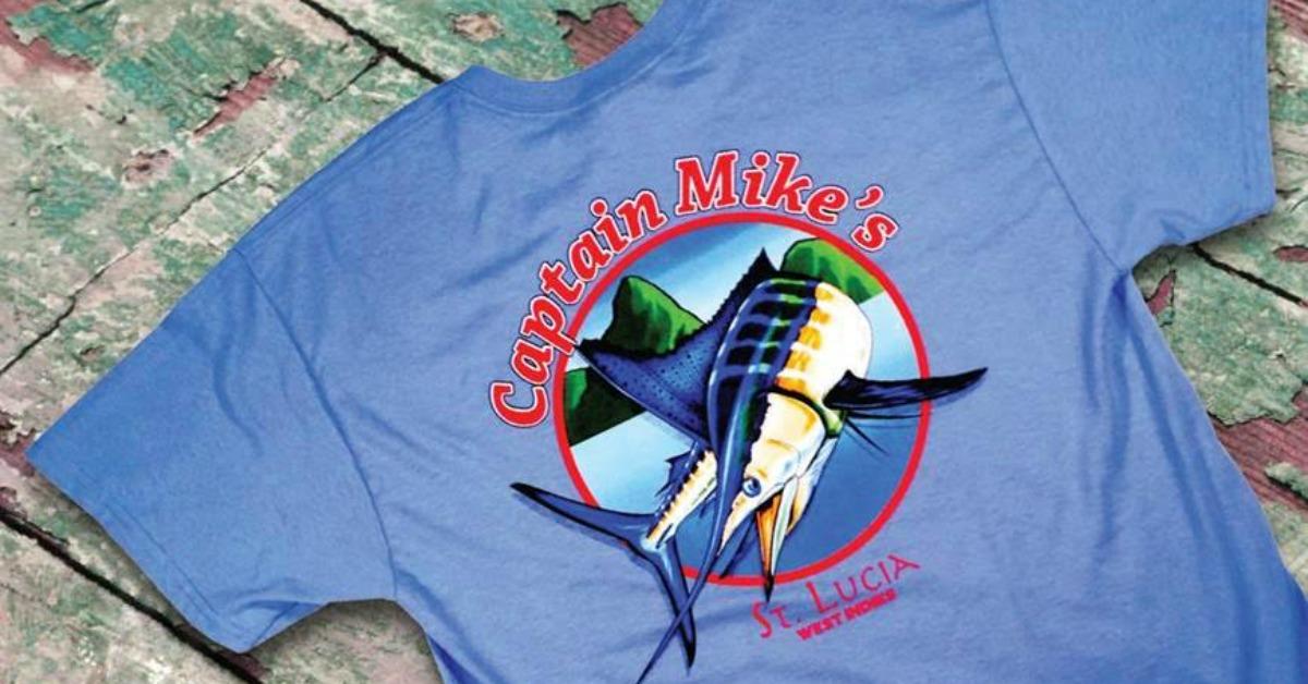 Red Tuna Fishing Shirt Club November - Capt Mikes  St Lucia FB