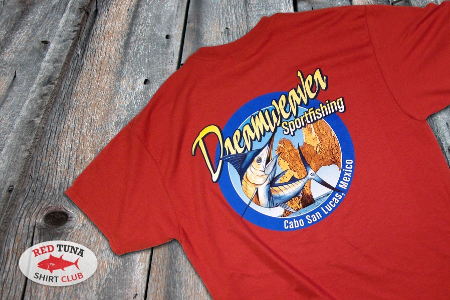Red Tuna Fishing Shirt Club December - Cabo San Lucas Dreamweaver Sportfishing