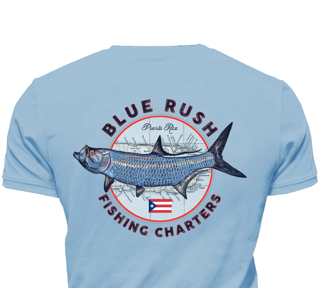 Authentic fishing shirts from around the world for Fishing shirt of the month